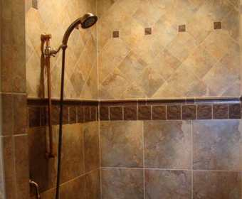 Tile and Grout Sealing Shower