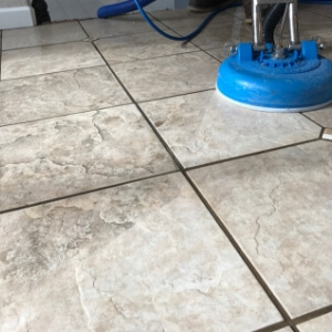 tile and grout floors